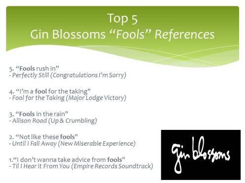 Top 5 fools