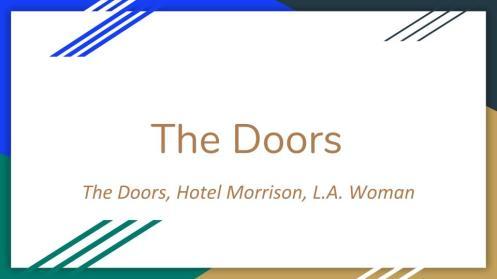 The Doors (1)